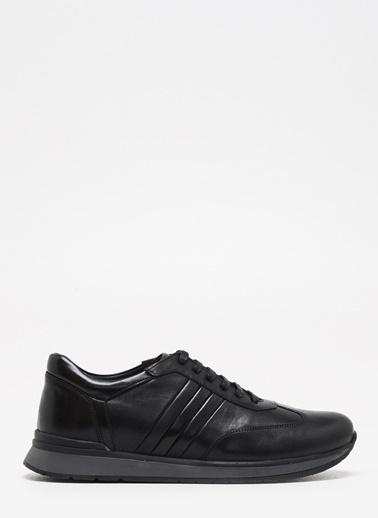 F By Fabrika Erkek Siyah Sneakers EFA Siyah